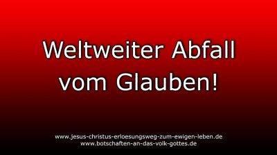 Weltweiter-Abfall-vom-Glauben!